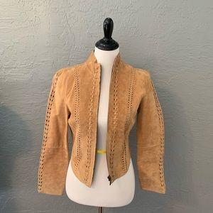 Bebe suede leather Jacket